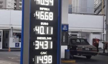 YPF volvió a aumentar las naftas: la súper roza los $41
