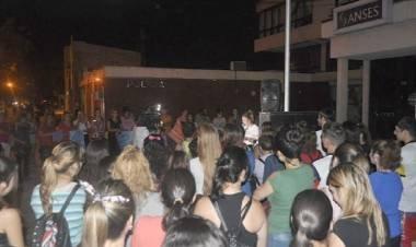 San Jorge: el joven que golpeó con una cadena a su ex novia ya había sido denunciado por violento