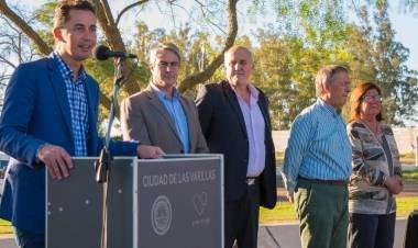 LAS VARILLAS: CALVO LLEGA A LA CIUDAD