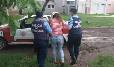 ALICIA: UNA MUJER DETENIDA POR ENTRAR A LA CASA DE SU EX