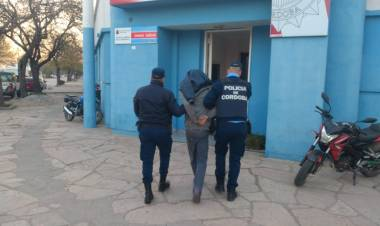 LAS VARILLAS: DETENIDO POR EL ROBO EN EL INSTITUTO MARÍA INMACULADA