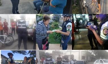 LAS VARILLAS: LA POLICIA CONTINUA CON LOS CONTROLES