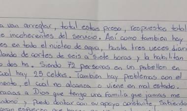 ALICIA: DESDE LA CÁRCEL, EL JOVEN LE ESCRIBIÓ UNA CARTA A RODRIGO TORREZ.
